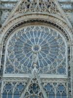 Cathédrale, la rosace du transept