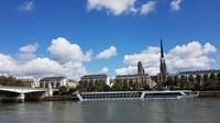 Seine et cathédrale