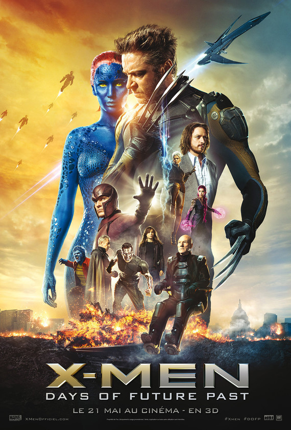 X MEN 7 DAYS OF FUTURE PAST