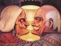 Dali--vieux-couple-de-musiciens