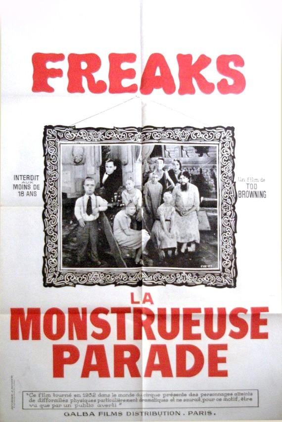 freaks-la-monstrueuse-parade-rare-affiche-de-film-80x120-1960-tod-browning