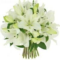 bouquet-de-lys-blanc