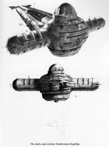 DUNE, vaisseaux de l'empereur de kaitan