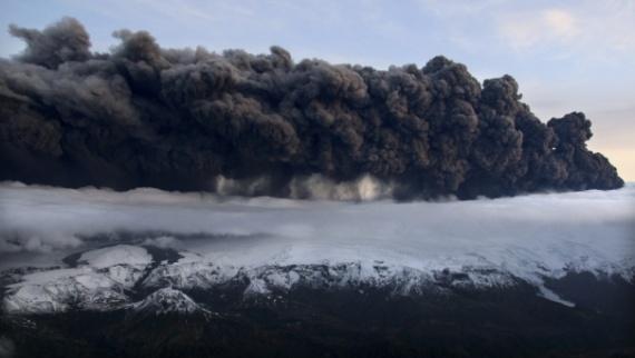 fumées volcaniques eyjafjallajokull