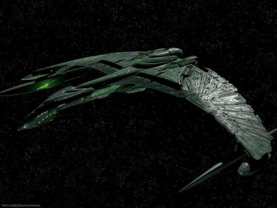 vaisseau romulien valdore