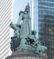 ernest Barrias La Défense de Paris,1883, rond-point de la Défense