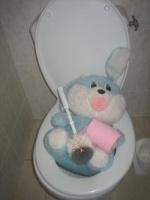 jeannot lapin a bouché les wc