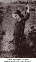 jeannette Tableau de V.Demont-breton,les fees de domremy