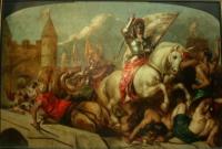 Jeanne d'Arc salut de la France, W.Etty