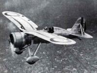 chasseur Loire 45 à aile en mouette, 1934