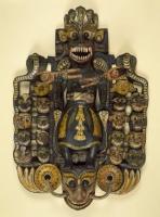 Grand masque du Démon Maha-Kola Sanniya, sri lanka