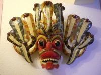 masque du sri lanka, naga raksha pour terrifier