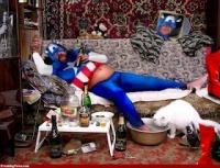 Captain America se laisse un peu aller