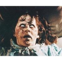 linda blair IS regan macneil dans ''L'exorciste'' en 75