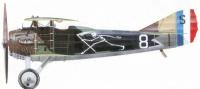 SPAD XIII de l'escadrille SPA 94 de P.Marinovitch