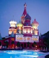 Kremlin palace hotel à Antalya,Turquie