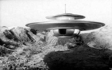 vaisseau alien in ''le monstre aux yeux verts'' (1962)