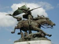 de jules Roulleau, 1893 à CHINON,place Jeanne d'Arc