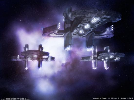 vaisseaux asgards