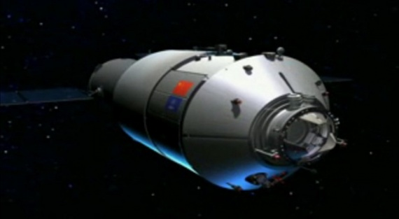 Tiangong1 module labo spatial chinois pour future station