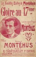 Montéhus ''Gloire au XVII'' de ligne- juin1907