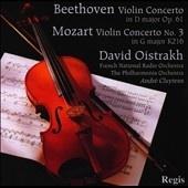 violin concerto Beethov, Mozart par David OSTRAKH