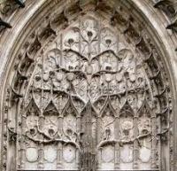 arbre de jessé, cathédrale de beauvais