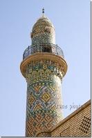 minaret de la mosquee kurde d'Erbil