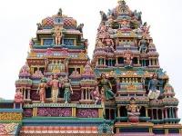 temples hindous sur l'ile Maurice