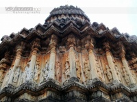 le temple Vidyashankara de Sringeri