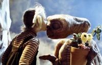 drew barrymore et E.T l'extraterrestre