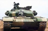 char chinois ZTZ99 canon de 125