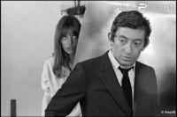 sur le tournage de Slogan,1968