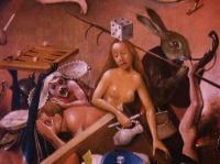 détails du Jardin des délices de Bosch