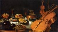 Pieter Claesz Nature morte aux instruments de musique (1623)