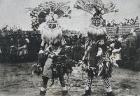 Féticheurs equipés pour la danse - ethnie KUBA