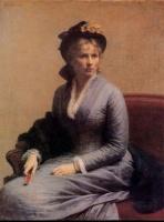 charlotte dubourg de Fantin-Latour (1882)