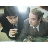 Lonsdale et jean carmet dans ''les oeufs brouillés'' de J.Santoni (1976)