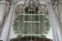 l'orgue de Görlitz signé eugénio casparini- expertisé par BACH en 1741