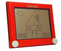 Telecran - l'écran magique inventé par André Cassagnes en 1955