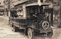 autobus ambulance en 1914