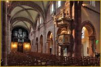 nef de l'église romane de Sainte-Foy à Sélestat