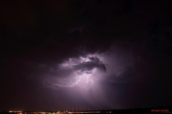 eclairs de chaleur à Kintzheim (67600) 27 juillet 2013