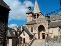 eglise St-Fleuret d'Estaing (aveyron)