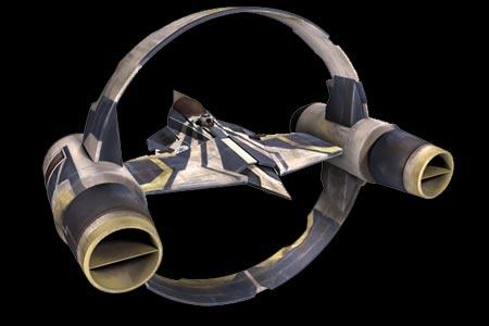 Aethersprite, intercepteur de lumiere (star wars, épisode II)