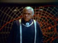 Commandant Adama (Lorne Greene) Galactica 1978