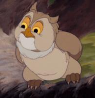 Maître Hibou dans Bambi