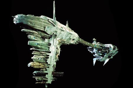 frégate Nebulon-B star wars le Retour du Jedi