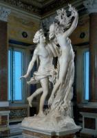 Le BERNIN ''Apollon poursuivant Daphné'' (1622) racines et mèches de marbre par Giuliano Finelli