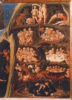 Le Jugement dernier de Fra Angelico (1431) Panneau droit du tryptique - Musée san marco,Florence